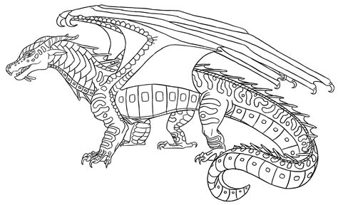 seawing dragon coloring page wings of fire seawing coloring pages coloring pages