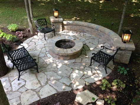 flat stones for patio images of retaining wall with flat patio email us at westcolumbus archadeck net we