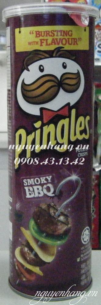 Pringles Bbq 110g khoai t 226 y lon pringles vá thá t næ á ng smoky bbq 110g