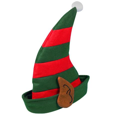 christmas xmas fancy dress novelty santa hat elf pixie