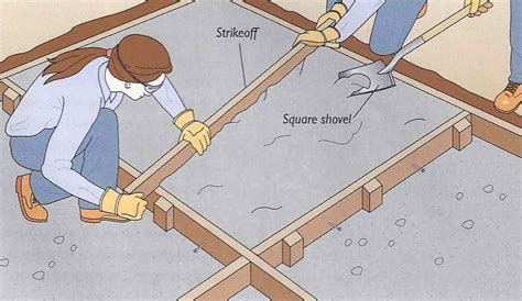DIY Concrete Patio in 8 Easy Steps   How to pour concrete slab