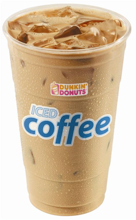 Iced Coffee Dunkin Donuts coffee battle showdown starbucks vs dunkin