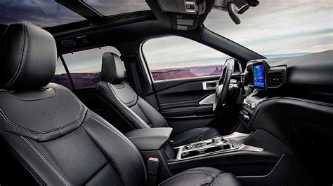 2020 Ford Bronco Unveiling by 2020 Ford Explorer St Comes Into The World As The Most