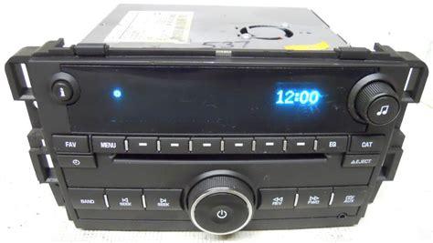 i need a 2008 gmc 1500 factory radio schematic inside wiring gmc 2007 2008 2009 2010 2011 2012 2013 factory cd player radio 25865029