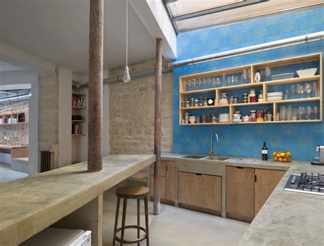 Bobos Kitchen by Small Budget Renovation Reveals A Loft S Parisian Charm