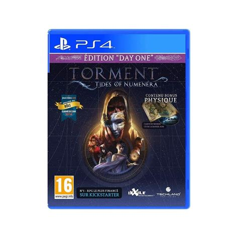 Ps4 Torment Tides Of Numenera Day One Edition Reg 2 Achat Torment Tides Of Numenera Day One Edition Ps4 Uk New