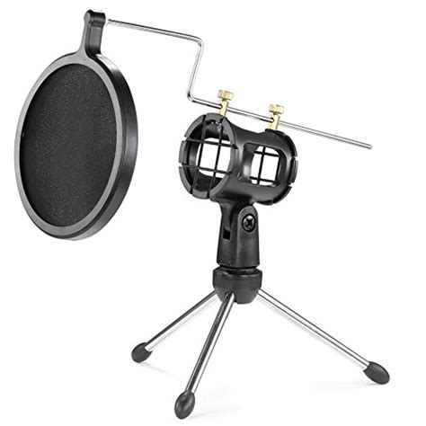 Holder Mic Import neewer foldable desktop microphone tripod stand with shock import it all