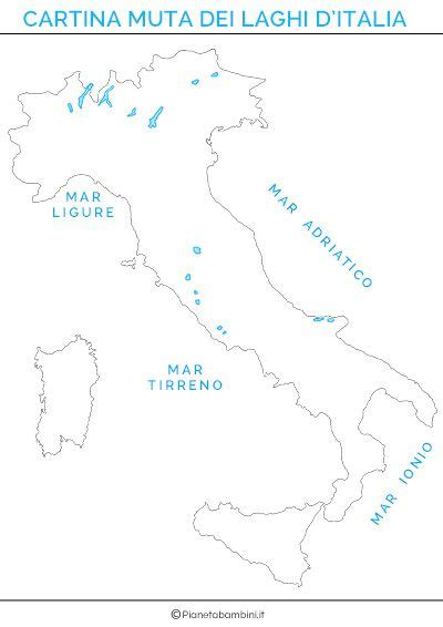cartina muta italia cartina dei laghi d italia in versione muta o completa