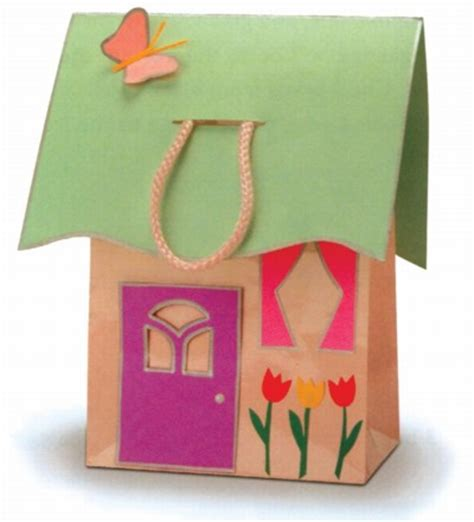 How To Make Paper Craft At Home - house tote house tote howstuffworks