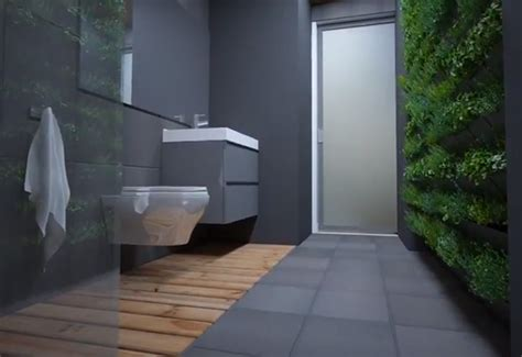 living wall bathroom students in alberta have created a sustainable modular