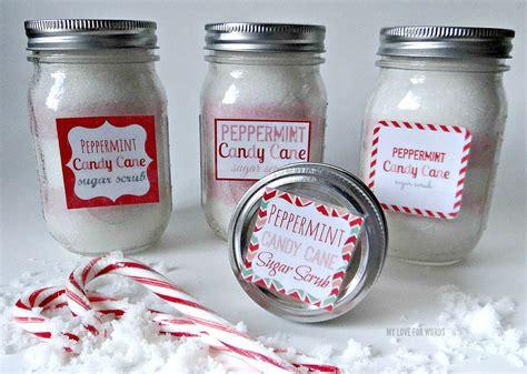 peppermint candy cane sugar scrub recipe
