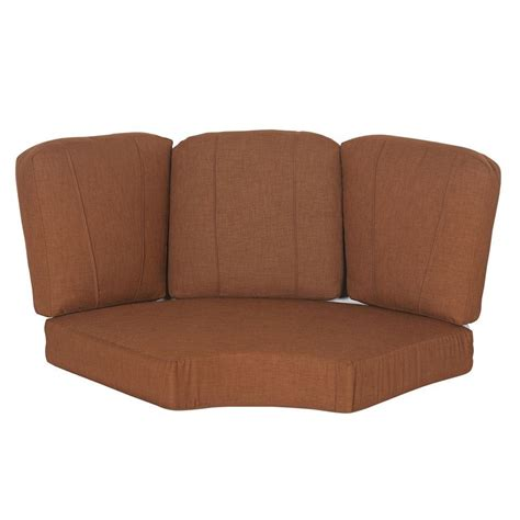 outdoor sectional replacement cushions hton bay cedarvale replacement outdoor sectional