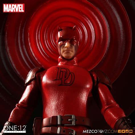 Mezco Toyz One 12 Collective Daredevil mezco one 12 collective daredevil update the toyark news