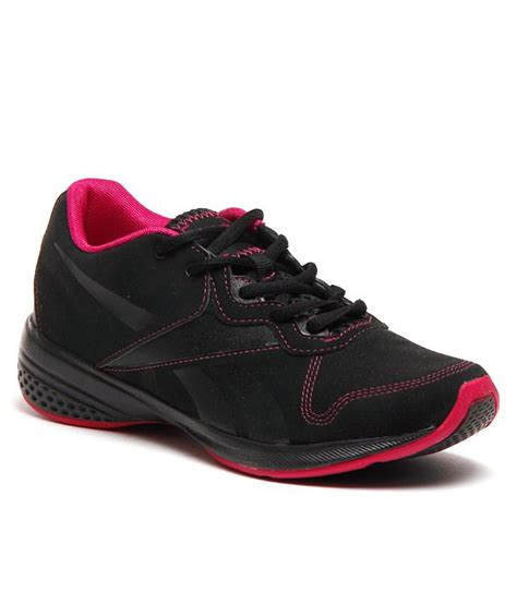 reebok black pink sports shoes price in india buy
