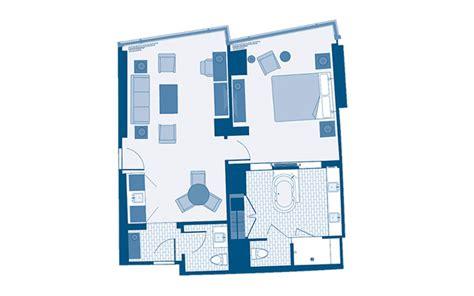 aria corner suite floor plan aria rooms suites
