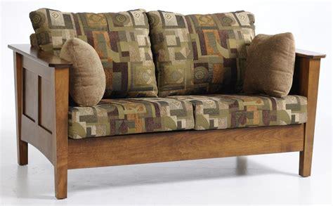futons rhode island jake s amish furniture 5001 urban shaker love seat