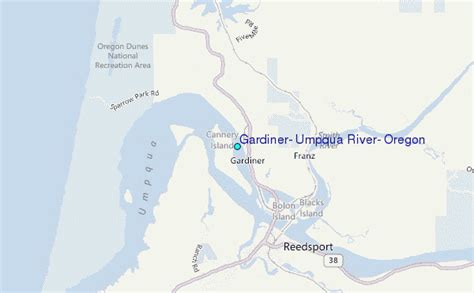 Tide Tables Florence Oregon by Gardiner Umpqua River Oregon Tide Station Location Guide