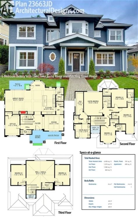 25 best ideas about 4 bedroom house plans on pinterest outstanding best 25 6 bedroom house plans ideas only on