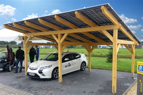 Solar Car Port by Sol 50 Solar Carport A Multi Talent Sen Solare