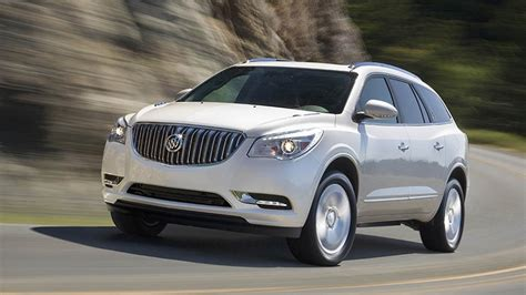 2017 buick enclave technical specifications and data