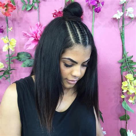 knotted half up half down hairstyles 21 braid top knot hairstyle ideas designs haircut
