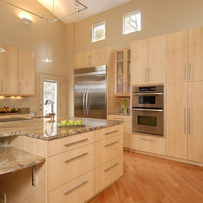 maple cabinets with bamboo floors   Google Search   For