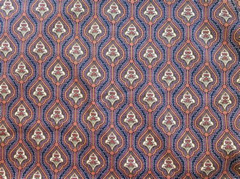 indian pattern fabric cotton fabric yardage indian style pattern in navy blue