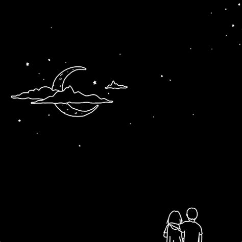 black themes star beautiful animated moon art gifs at best animations