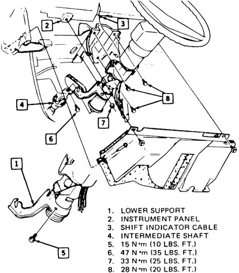 electric power steering 1986 buick century user handbook service manual electric power steering 1988 buick century seat position control service