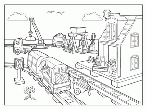 lego train coloring pages train coloring sheets cmsea coloriage lego city train