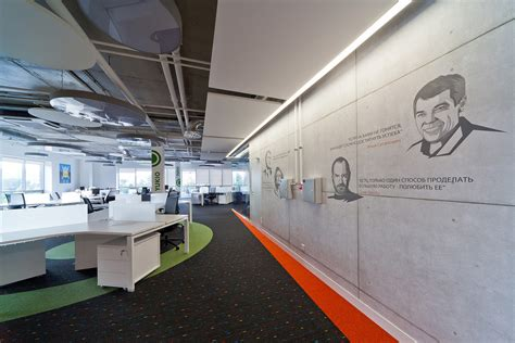alfa bank moscow alfa bank s new moscow laboratory offices office snapshots