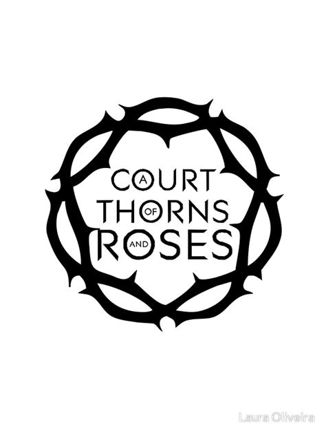 a court of thorns quot a court of thorns and roses quot stickers by laura oliveira redbubble