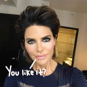 how to get rinna s haircut step by step lisa rinna news and photos perez hilton