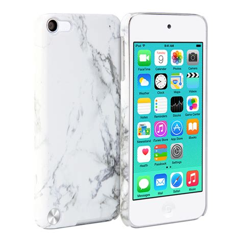 ipod 5 cover print white marble pattern cover ebay