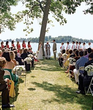 Backyard Wedding Guest List Wedding Blogs Determining Your Wedding Budget