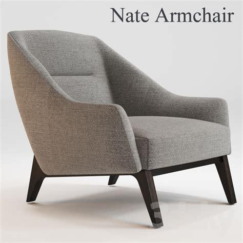 armchair stool 3d models arm chair nate armchair okha adam court