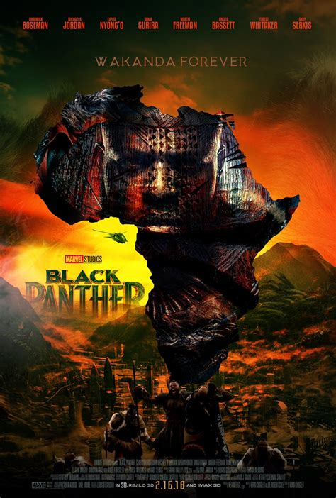 dark posters these quot black panther quot fan movie posters are everything