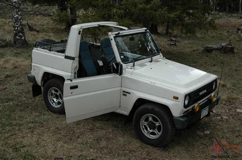 toyota blizzard toyota blizzard diesel 4x4 soft top land cruiser jeep
