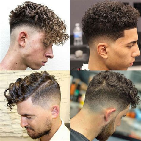 Curly Hair Fade
