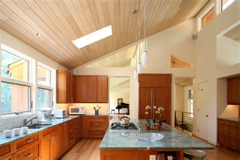 sloped ceiling 42 kitchens with vaulted ceilings