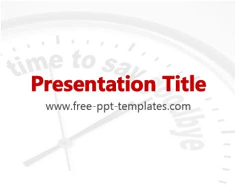Farewell Ppt Template Free Powerpoint Templates Farewell Presentation Template