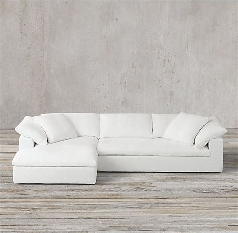 restoration hardware cloud sectional best 25 restoration hardware sectional ideas on pinterest