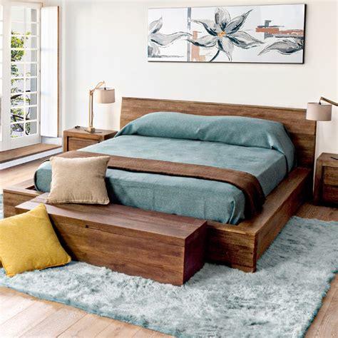 letto a in legno massello letto etnico in legno massello di mango outlet mobili etnici