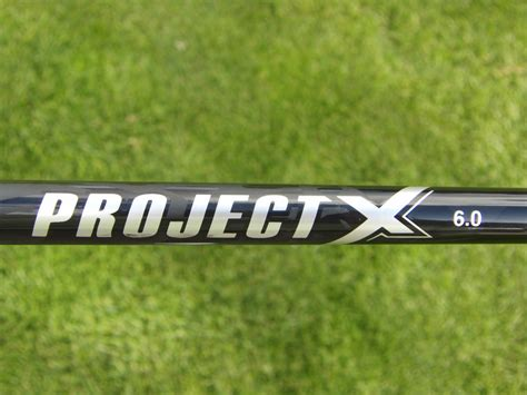 project x 5 5 swing speed project x 6 0 driver shaft specs