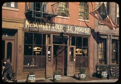 old ale house mcsorley s old ale house 1942 old timey pinterest