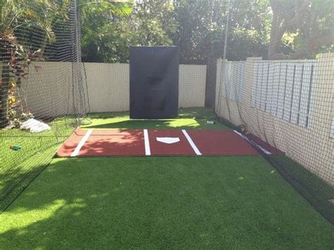 Home Plate Batting Center by Nylawn Hawaii Synthetic Turf For Recreation