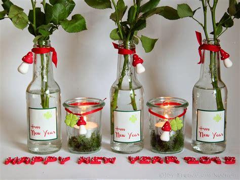 silvester tischdeko basteln silvester und neujahr tischdeko ideen freude am kochen