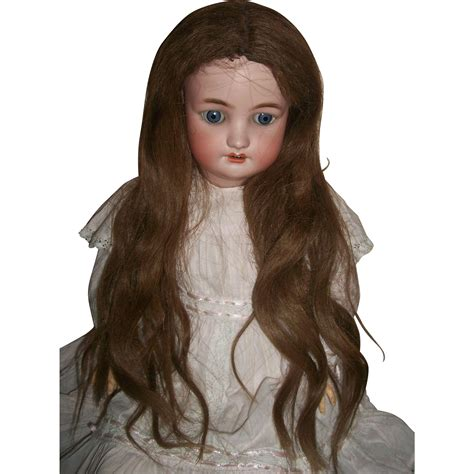 Human Hair Doll For antique human hair doll wig needs to be styled from