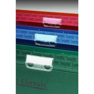 rexel crystalfile crystal printable tab inserts white 50