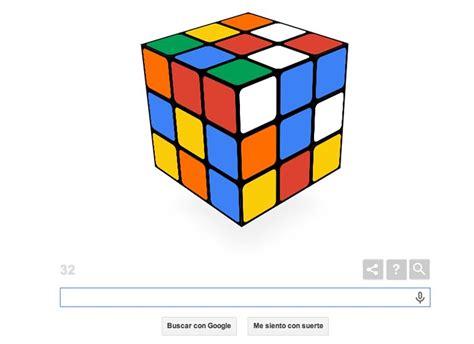 doodle do cubo magico sigue jugando con el doodle cubo de rubik